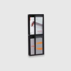 Magazine rack 2 levels | Shelving | Scherlin