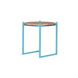 Lulu Travertin Red | Side tables | JOHANENLIES
