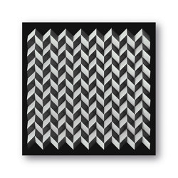 Foldart Paperfold - black white - Acryl black | Arte | Foldart