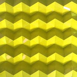 Foldwall 100 - color - yellow brilliant | Wall panels | Foldart