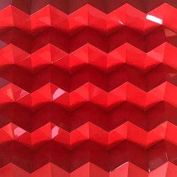Foldwall 100 - color- red brilliant | Wall panels | Foldart
