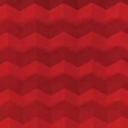 Foldwall 100 - color - red matt-finished | Wall panels | Foldart