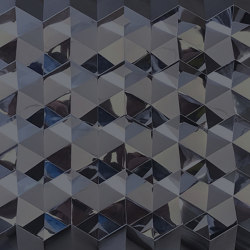 Foldwall 100 - mirror - anthracite   Wall panels   Foldart