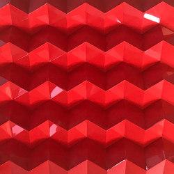 Foldwall 75 - color - red brilliant | Wall panels | Foldart