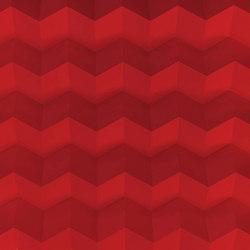 Foldwall 75 - color - red matt-finished | Wall panels | Foldart