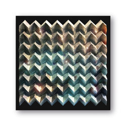 Waterfold - crystal - Acryl black | Wall art / Murals | Foldart