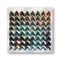Waterfold - crystal - Acryl transparent | Wall art / Murals | Foldart