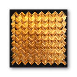 Waterfold - gold - Acryl black | Peintures murales / art | Foldart
