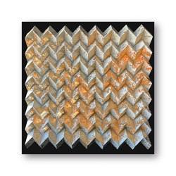 Waterfold - gold brush - Acryl black | Wall art / Murals | Foldart