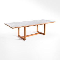 Span - Dining table 260 x 100 x h70 cm Bianco Carrara | Dining tables | Salvatori