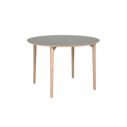 Flex table round 110cm | Dining tables | Hans K