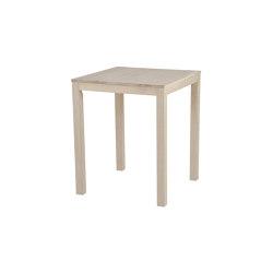 Inzel table 75x75cm Ash Blonde   Mesas comedor   Hans K