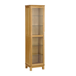 Inzel vitrine 1-door oak oiled | Display cabinets | Hans K