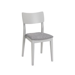 Piccolo chair light grey, assembled | Chairs | Hans K