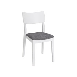 Piccolo chair white, assembled | Chairs | Hans K