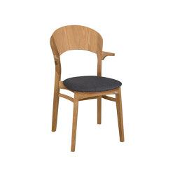 Rainbow Armchair oak oiled | Chairs | Hans K