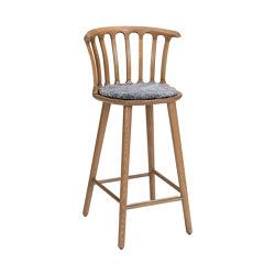 San Marco barchair 63cm oak grey | Bar stools | Hans K