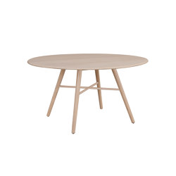 San Marco table round 140cm ash blonde | Dining tables | Hans K