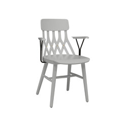 Y5 Armchair grey | Sillas | Hans K
