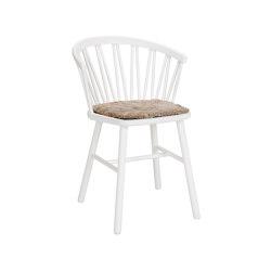 ZigZag Armlehnstuhl Weiss | Stühle | Hans K