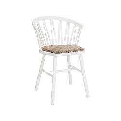 ZigZag armchair white | Chaises | Hans K