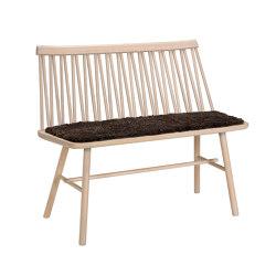 ZigZag Bank Esche Blonde | Stühle | Hans K
