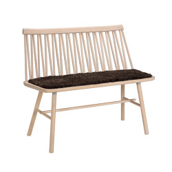 ZigZag bench ash blonde | Benches | Hans K