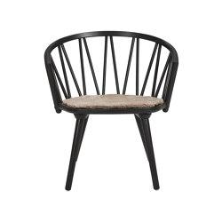ZigZag lounge chair Ash Black   Chaises   Hans K