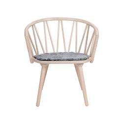 ZigZag lounge chair Ash Blonde   Chaises   Hans K