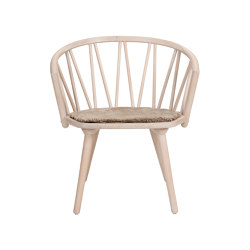 ZigZag lounge chair ash blonde | Armchairs | Hans K