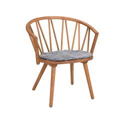 ZigZag lounge chair oak oiled   Chaises   Hans K