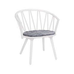 ZigZag lounge chair white | Chairs | Hans K
