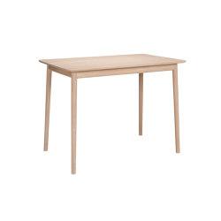 ZigZag table 120x75cm ash blond   Dining tables   Hans K