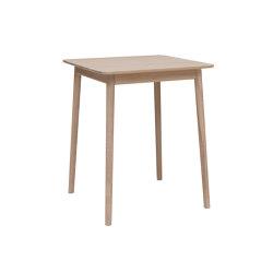 ZigZag table 75x75cm Ash Blonde | Dining tables | Hans K