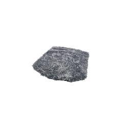ZigZag cushion lounge sheepskin graphite | Cojines para sentarse | Hans K