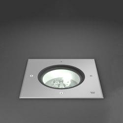 Terra Edelstahl 190 In-ground luminaires | Lampade outdoor incasso pavimento | RZB - Leuchten