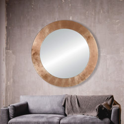 Basic Copper Circle | Mirrors | Deknudt Mirrors