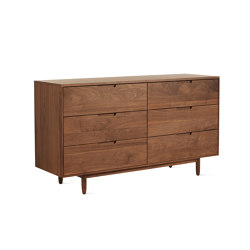 Raleigh Wide Dresser | Credenze | Design Within Reach
