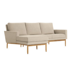 Raleigh Sectional with Chaise | Sofás | Design Within Reach