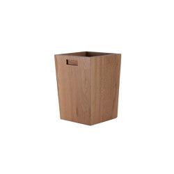 Los Robles Oak Waste Bin | Pattumiere | Pfeifer Studio