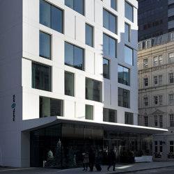 Corian® | Exterior Façade Motel One London | Facade systems | Rosskopf + Partner