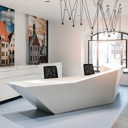 Avonite® | Interior Tourist-Info Freiberg | Comptoirs | Rosskopf + Partner