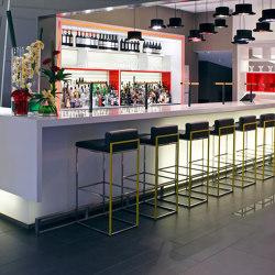 Silestone   Hotel furniture Pullmann Hotel London   Counters   Rosskopf + Partner