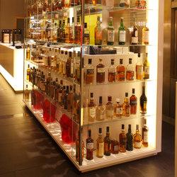 Silestone | Hotel furniture Pullmann Hotel London | Vitrinas | Rosskopf + Partner