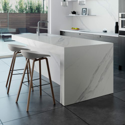 Dekton® | Surface for Dekton showroom kitchen | Cuisines compactes | Rosskopf + Partner