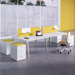 Woods 90° Edge | Desks | Fantoni