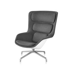 Striad High-Back Lounge Chair, Four Star Base | Armchairs | Herman Miller