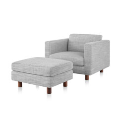 Lispenard Chair and Ottoman | Sillones | Herman Miller
