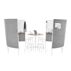 Prospect Creative Space | Systèmes d'absorption acoustique autoportants | Herman Miller