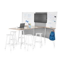 Prospect Media Space | Sound absorbing freestanding systems | Herman Miller